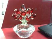 SWAROVSKI Collectible Plate/Figurine CRYSTAL